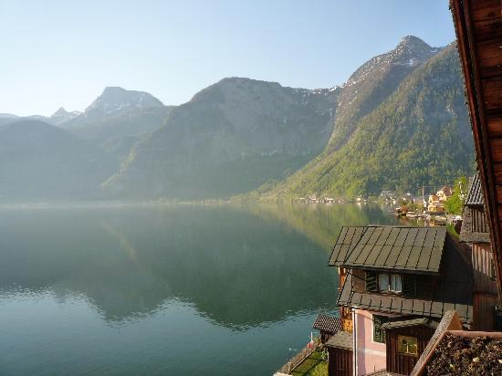 Pension Sarstein: Morning view from balcony