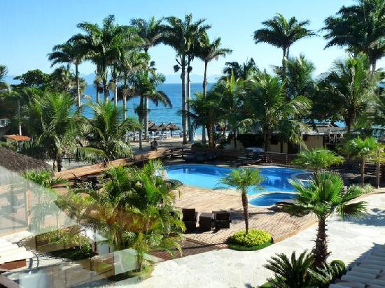 ريو بوزيوس بيتش هوتل: Vista desde el balcón de la habitación