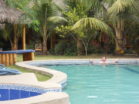 Montanita Cabanas: piscina..lo mejor del lugar