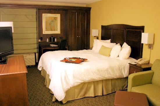Hampton Inn Kansas City Airport: Newly renovated rooms. Great comfort.