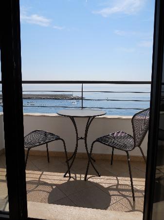 Hotel Cala Luna: Balcon