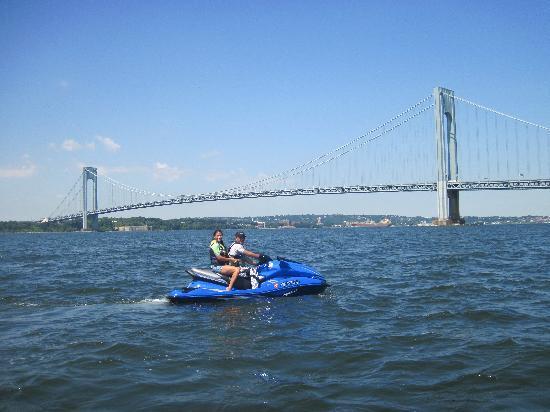 Jetty Jumpers: Verazzano Bridge, Brooklyn, NY