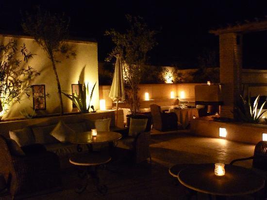Riad Camilia: terrasse