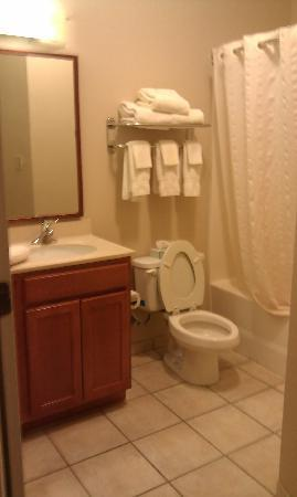Olive Branch, MS: Roomy bathroom