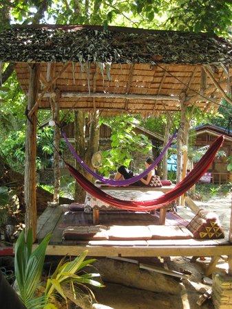 Pulau Kapas, Malaisie : les hamacs...