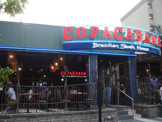 Copacabana Brazilian Steakhouse Niagara Falls Menu