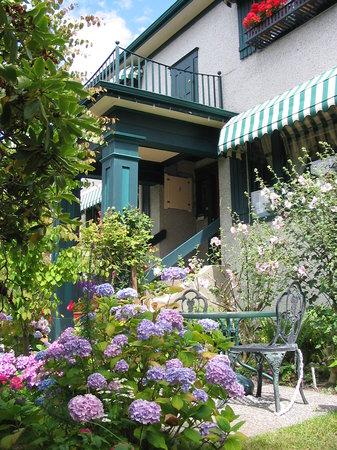 Marifield House B&B: Hydrangea Garden