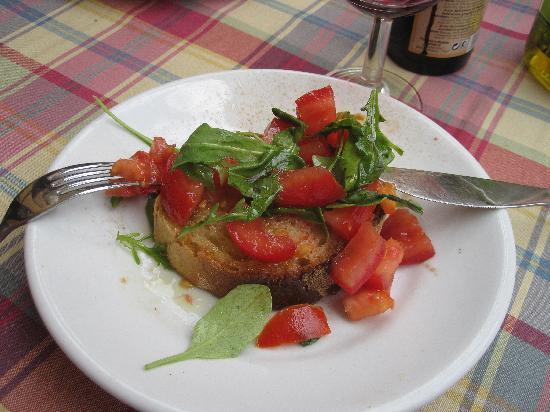 Casetta di Trastevere: bruschetta pomodoro crudo
