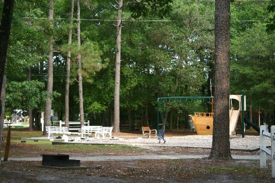 Wilmington KOA: Shot of playground (More pics at