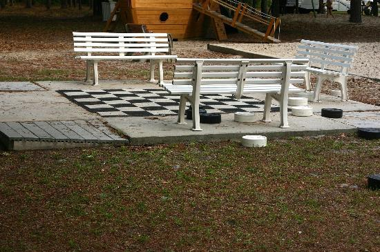 Wilmington KOA: Who doesn't love a game of checkers? More at (
