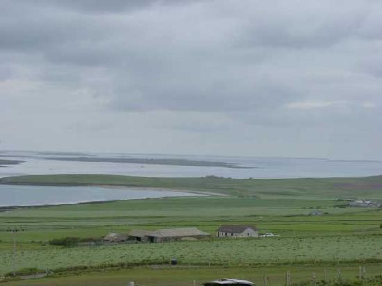 Castlehill Orkney: View Southeast from the B&B