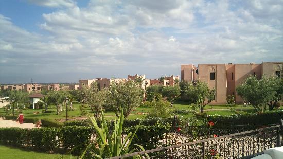 Marrakech Ryads Parc & Spa: vue terrasse