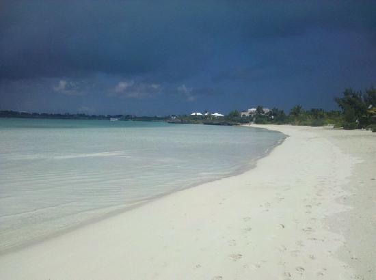 Royal West Indies Resort: Sapodilla Bay before the storm hit!
