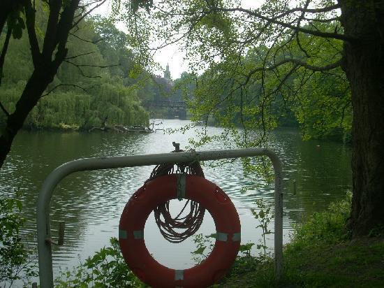 Copenhagen, Denmark: giardino pubblico