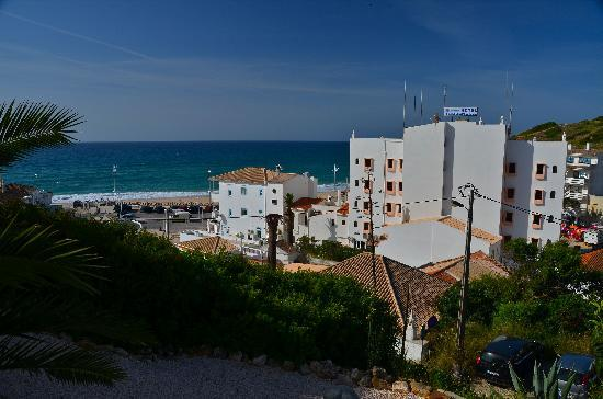 Pension A Mare Bed & Breakfast: View from our balcony