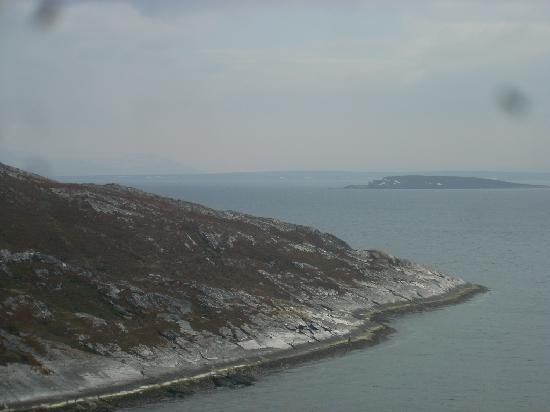 Finnmark, Noorwegen: panoramica della costa