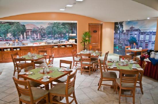 Sleep Inn San Jose Downtown: Breakfast Area