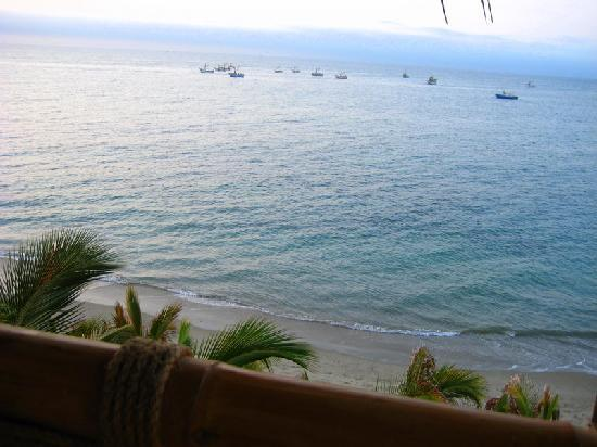 Hotel Grand Mare & Bungalows: Vista desde balcón de habitación