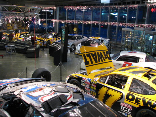 Matt Kenseth Racing Museum: Matt Kenseth's car collection