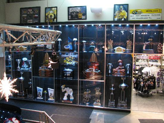 Matt Kenseth Racing Museum: Trophies and retail