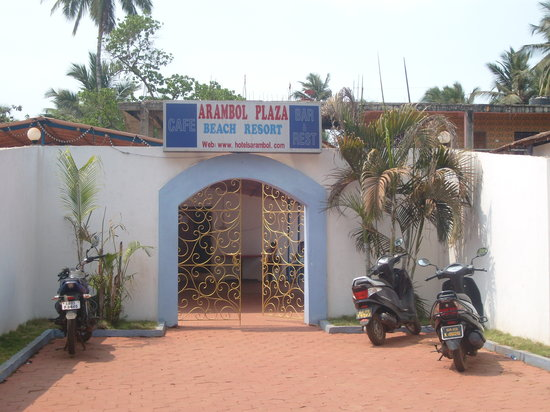 Arambol Plaza Beach Resort: Hotel Arambol Plaza