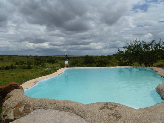 Amani Mara Lodge: The Swimming pool