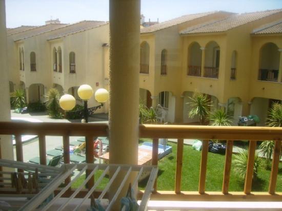 Vista planta arriba fotograf a de aparthotel jardines del plaza pe scola tripadvisor - Jardines del plaza peniscola ...