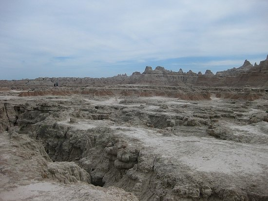 Badlands National Park, SD: Off the boardwalk, on the Door Trail