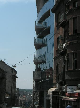 View towards the Sava