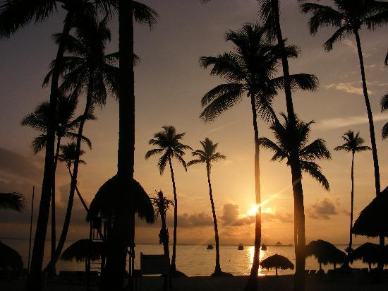 Dreams Palm Beach Punta Cana: another sunrise