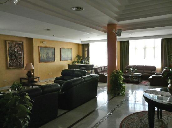 Hotel Los Bronces: Salón de entrada