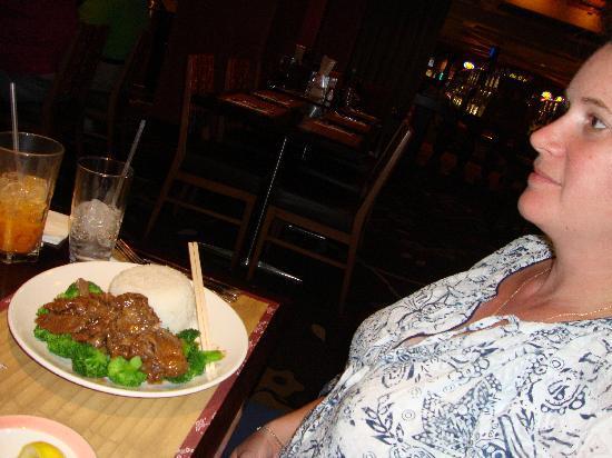 Pho at Treasure Island: Beef with rice