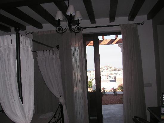 Hotel Rural Es Trull de Can Palau: vista parcial de nuestro suite
