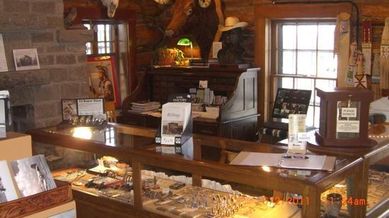 Yellowstone County Museum: main floor exibit & shop