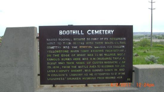 Boot Hill Cemetery : This shouldn't be lost to history