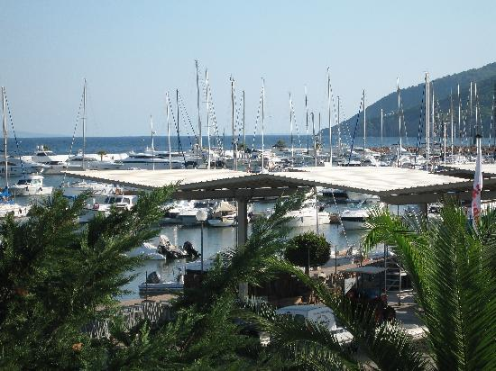Hotel Tres Torres: view of the marina from balcony