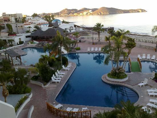 San Carlos Plaza Hotel Resort & Convention Center : fotografia tomada desde nuestra habitación