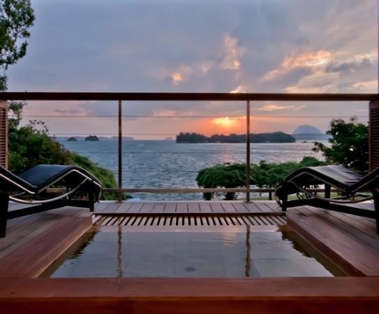 Hotel Ryugu: 天使の梯子 部屋付き露天風呂