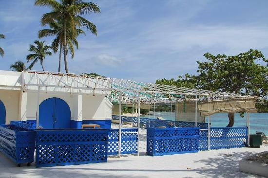 Sapphire Beach Resort: Closed restaurant