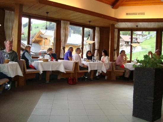 Hotel Jungfrau: Restaurant
