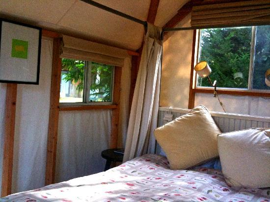 Costanoa Coastal Lodge u0026 C& Interior of tent cabin at Costanoa & Interior of tent cabin at Costanoa - Picture of Costanoa Coastal ...