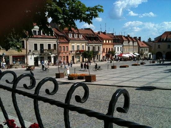 Sandomierz, Poland: Old Market Square