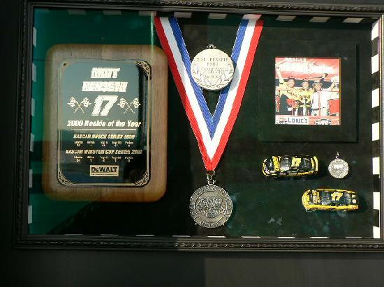 Matt Kenseth Racing Museum : Rookie of the Year Award