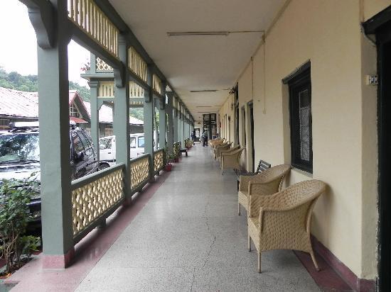 Grand Hotel: corridor