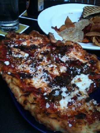 pizza..yum-o!