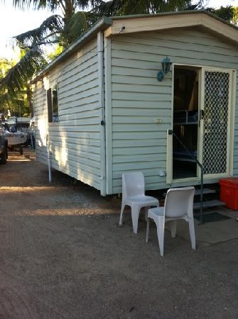 Karumba, Australië: cabin at van park