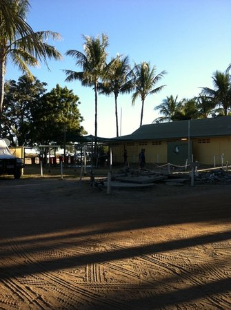 Karumba, Australien: fish cleaning area