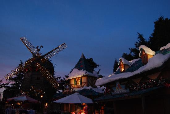 Disneyland Paris : Navidad 2010