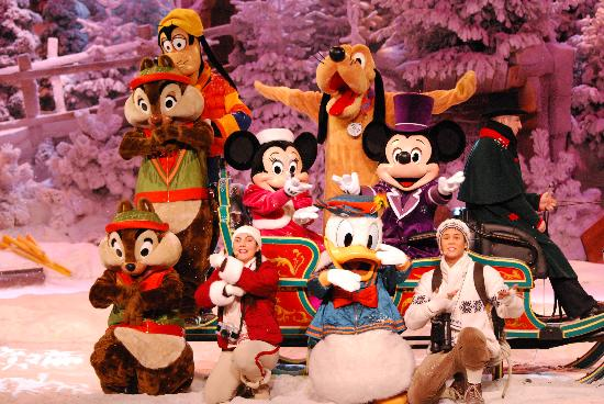 Park Disneyland: navidad 2010