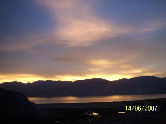 Leh, India: early morning view